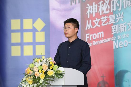 青岛中纺亿联时尚产业投资集团有限公司执行董事 王林致辞