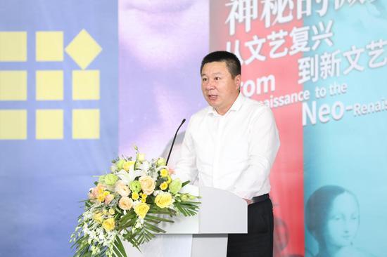 青岛市西海岸新区副区长 隋斌致辞