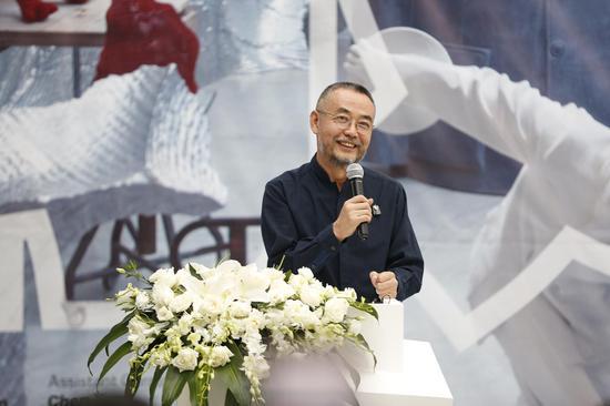 艺术家隋建国开幕式致辞