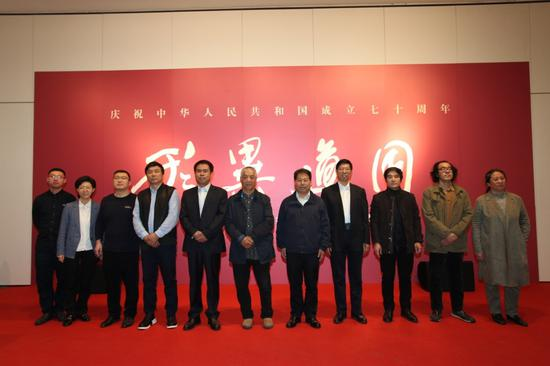 中国写意油画学派作品邀请展在天津滨海美术馆开幕