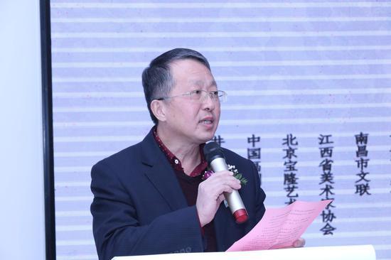 中共井冈山市委宣传部副部长肖国祥先生致辞