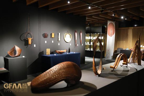 《匠作之歌——日本传统工艺展》现场