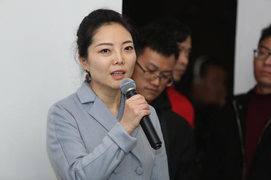 策展人刘燕致辞