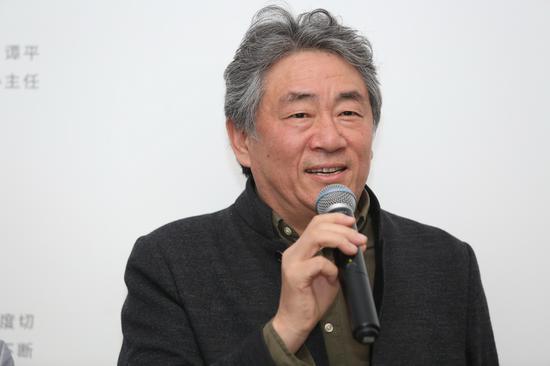 中国艺术研究院副院长、艺术家谭平致辞