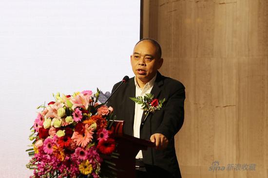 杨昌刚师长教员致辞   中国书法家协会理事、贵州省书法家协会驻会副主席兼秘书长