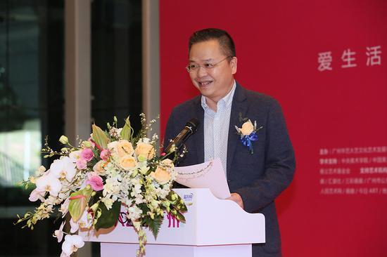 华南师范大年夜学美术学院院长方少华宣布第八届大年夜艺博(广州)优良青年艺术家获奖名单