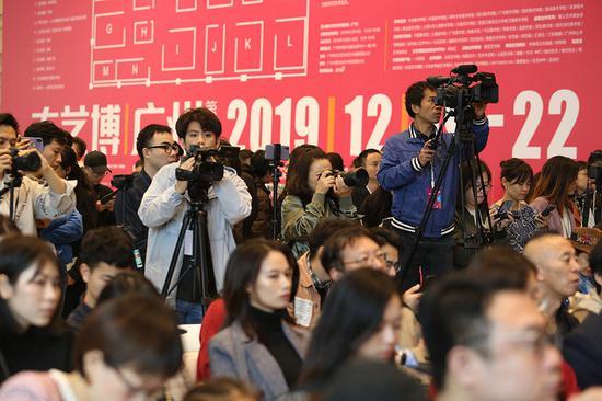 2019第八届大艺博(广州)开幕式现场媒体云集