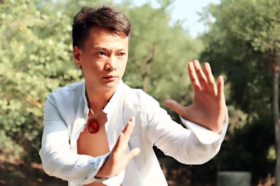 中国新一代导演、动作导演,武术家袁传强