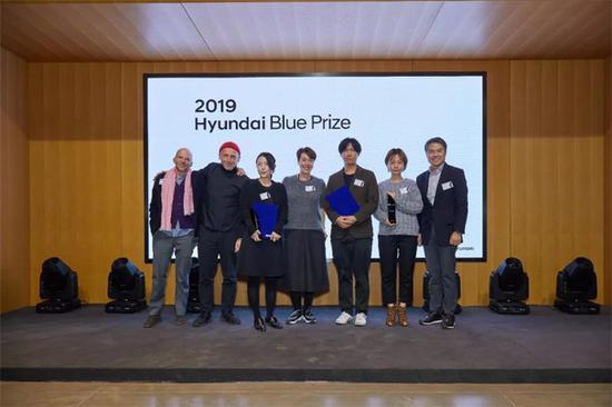 Hyundai Blue Prize 2019 颁奖现场