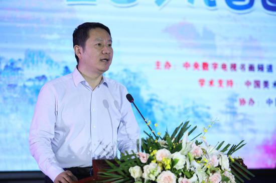 中国艺术档案学会副会长徐明勋 讲话