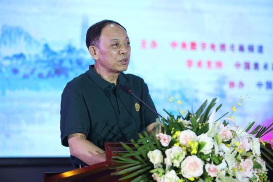 中国文联原副主席夏潮 讲话