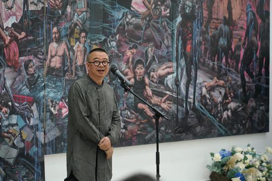 艺术家孟涛致感谢辞