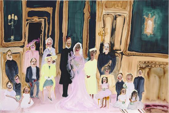 珍尼维·菲吉斯《婚礼派对》估价:550,000-850,000 港元
