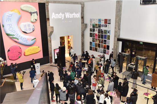 民生新年首展《安迪.沃霍爾的1961-1987》正式開幕