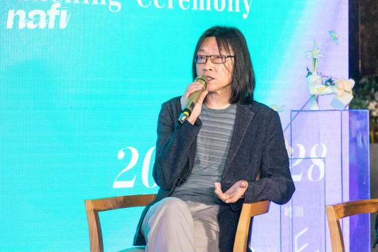 NAFI南京国际艺术博览会总顾问朱朱