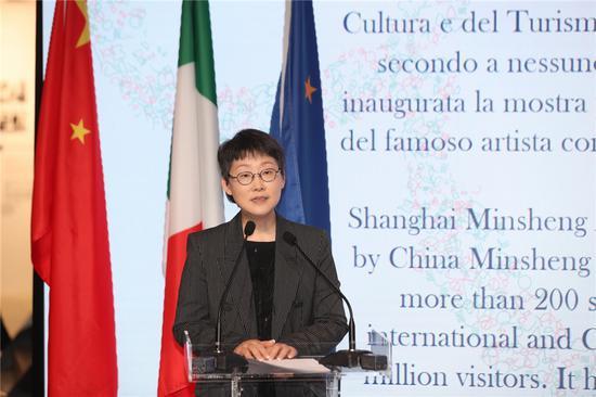 上海民生现代美术馆馆长 甘智漪 发言