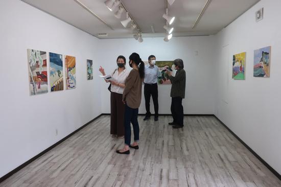 展覽現場| 日本藏家在展覽現場