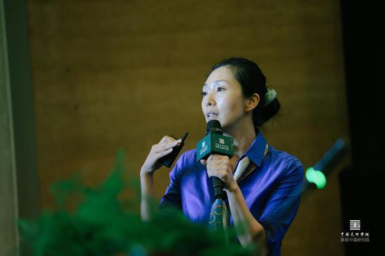 美麗中國建設高峰論壇發言嘉賓:眾信旅游集團副總裁、眾信博睿董事長張莉
