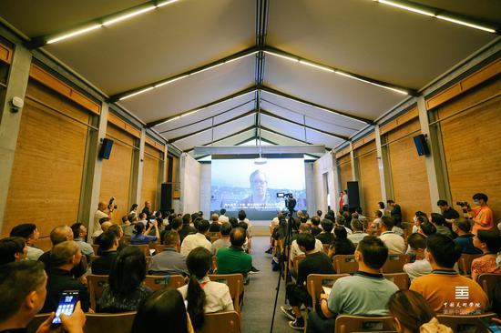 '中國美術學院美麗中國研究院'成立揭牌現場
