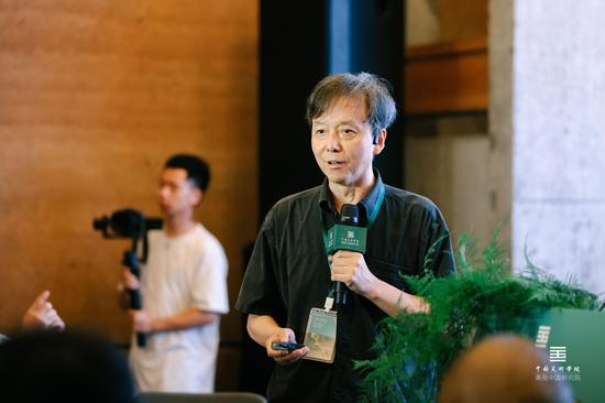 美麗中國建設高峰論壇發言嘉賓:中國流行色協會副會長、中國美術學院學術委員會副主任宋建明