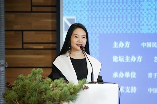 中國美術學院美麗中國研究院副院長、藝文力創始人汪莎發布黔東南公共藝術行動