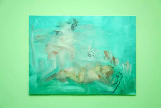 谢南星,《香料No.1》,布面油画,220 x 300 cm,2016