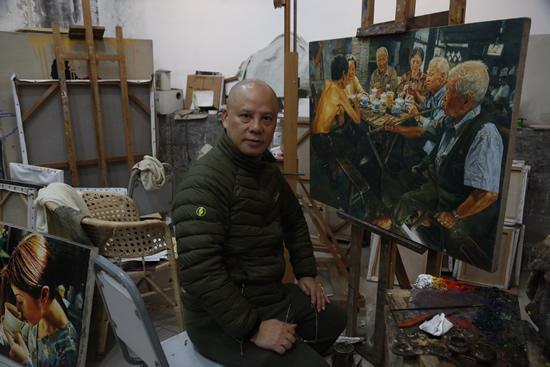艺术家陈安健