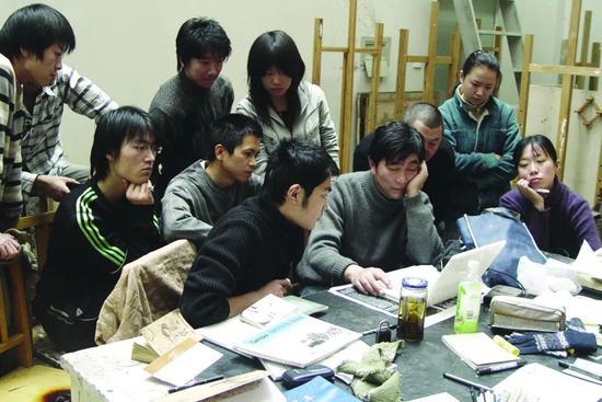 2007年版画系教学场景