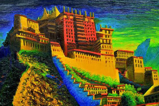 传钵油画展 全国巡展