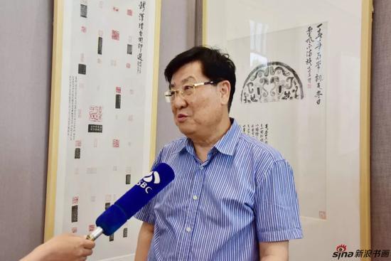 著名书画家、鉴赏家-萧平-接受JSBC采访