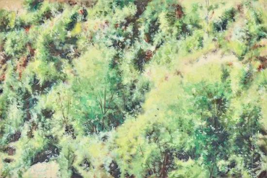 《林县-3》 布面油画 80×120cm 2016