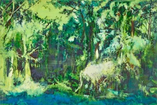 《灵鹫-1》 布面油画 120×180cm 2017年