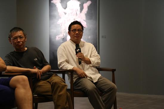 中央美术学院中国画学院丘挺教授发言