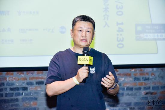 艺术介入联合创始人、《中国艺术介入年鉴》学术顾问赵力先生发言