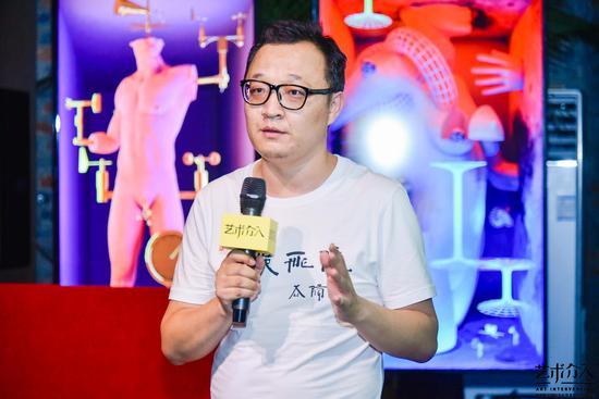 艺术介入策划总监段少锋介绍《中国艺术介入年鉴》