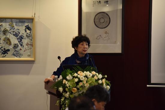 北京故宫博物院古陶瓷专家王健华