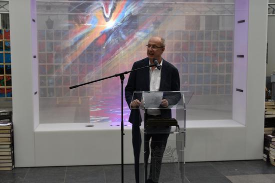 原布鲁塞尔自由大学副校长、欧中人文交流协会主席,J.M. 德瓦勒(Jean-Michel DE WAELE)