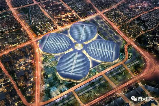 中国国际进口博览会 全景