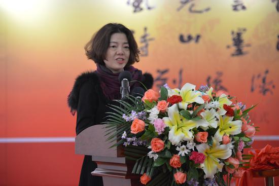 湘潭市委常委、宣传部长吴小月致辞