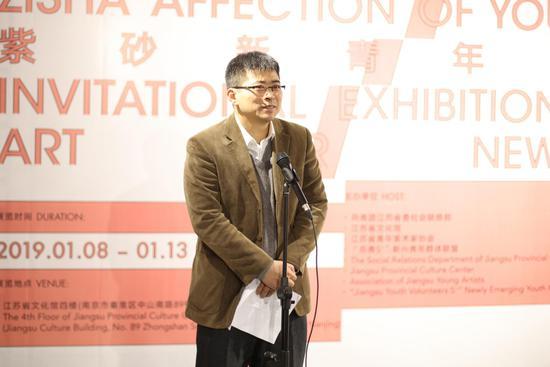 共青团江苏省委社会联络部部长汤江林发言