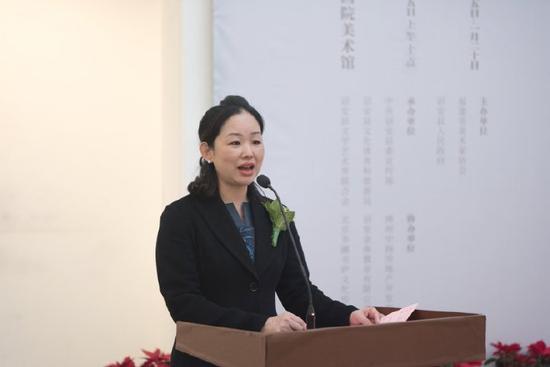 中共诏安县委常委、宣传部长曾小玲致辞