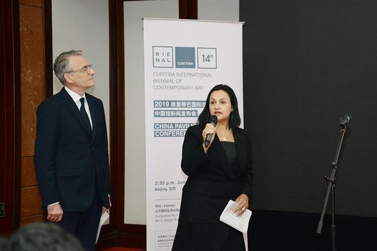 第十四届库里蒂巴国际当代艺术双年展总策展人特蕾莎·德·阿鲁达Tereza-De-Arruda介绍双年展的情况