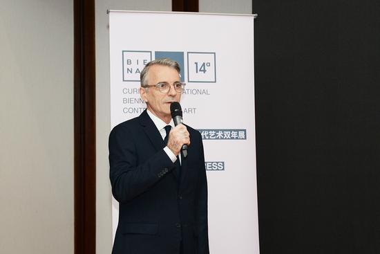 第十四届库里蒂巴国际当代艺术双年展主席路易斯·迈耶Luiz-Ernesto-Meyer先生致辞