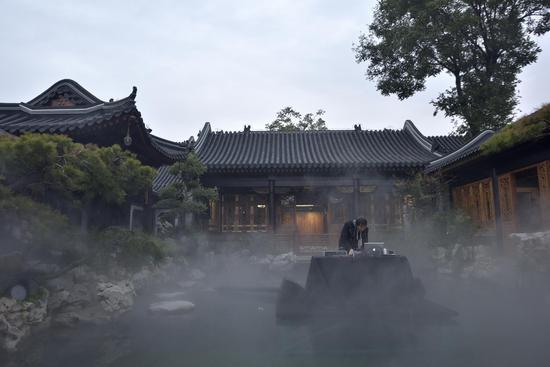 音乐家丰江舟录制现场