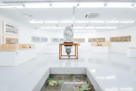 "K11建筑艺术节""木构复兴""展览现场"