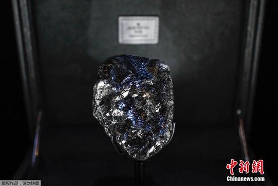 世界第二大钻石原石重1758克拉 或被切割变为珠宝