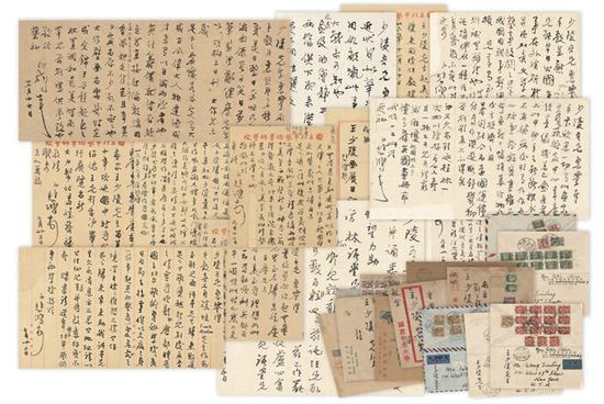 """西泠春拍之""""中外名人信札手稿"""""""