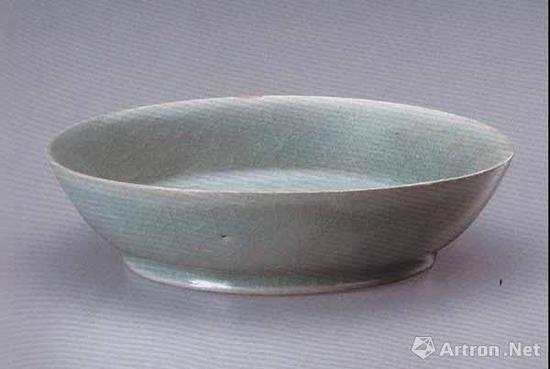 北宋 汝窑青釉洗 直径13.1厘米