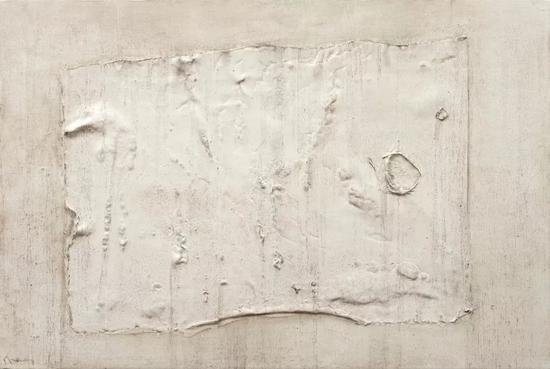 坏书-历史 布面综合材料 100cmX150cm 2018年