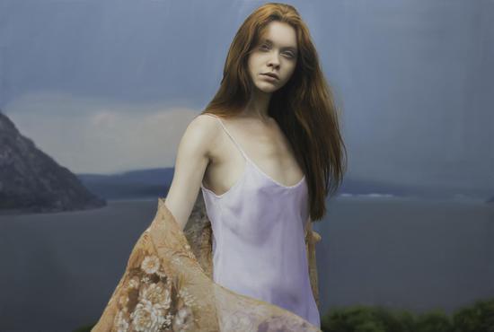 Sonia 布面油画 Oil on canvas 137x203cm 2017